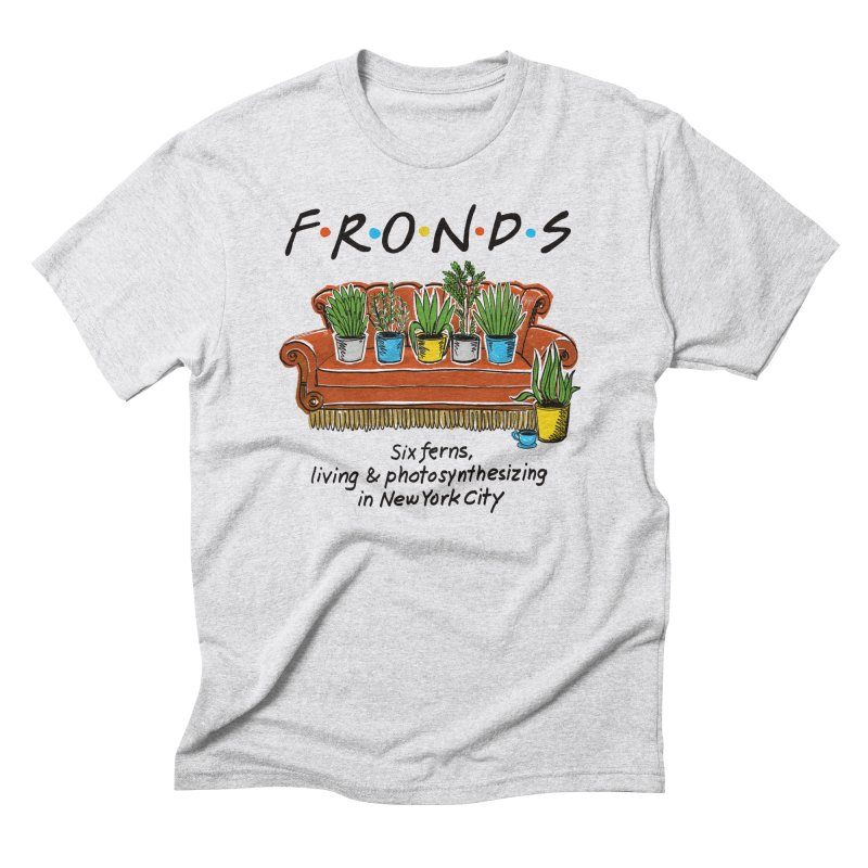 FRONDS Men's Triblend T-Shirt by totalbabycakes's Artist Shop