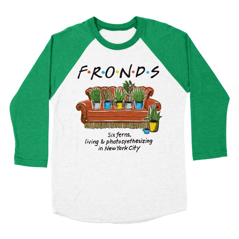 FRONDS Men's Baseball Triblend T-Shirt by totalbabycakes's Artist Shop