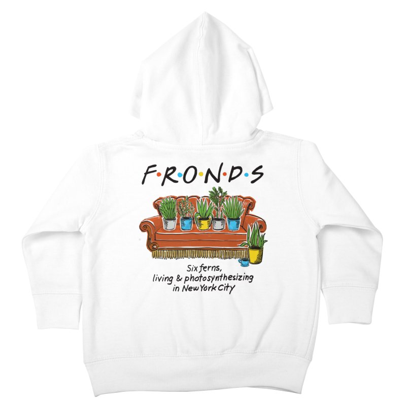 FRONDS Kids Toddler Zip-Up Hoody by totalbabycakes's Artist Shop