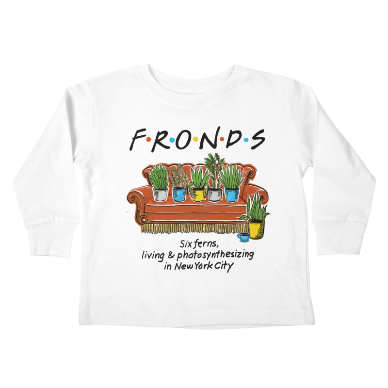 FRONDS Kids Toddler Longsleeve T-Shirt by totalbabycakes's Artist Shop
