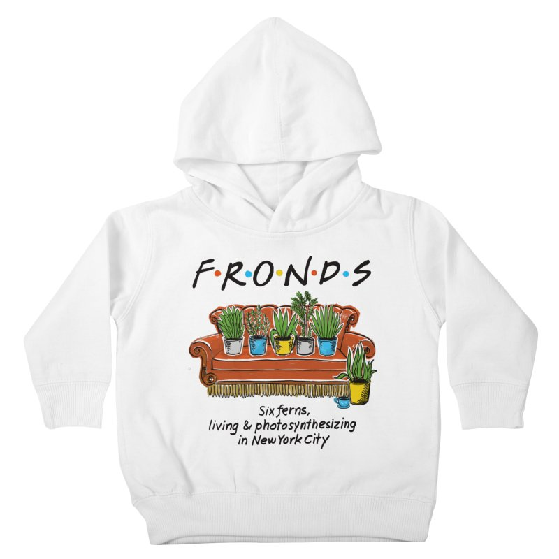 FRONDS Kids Toddler Pullover Hoody by totalbabycakes's Artist Shop