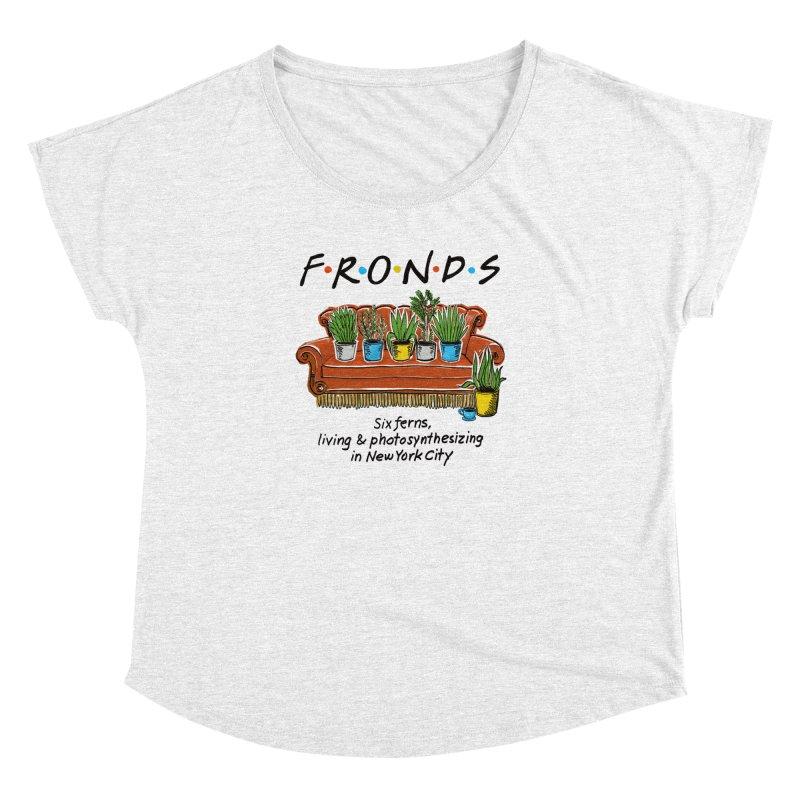 FRONDS Women's Dolman by totalbabycakes's Artist Shop