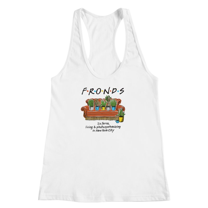 FRONDS Women's Racerback Tank by totalbabycakes's Artist Shop