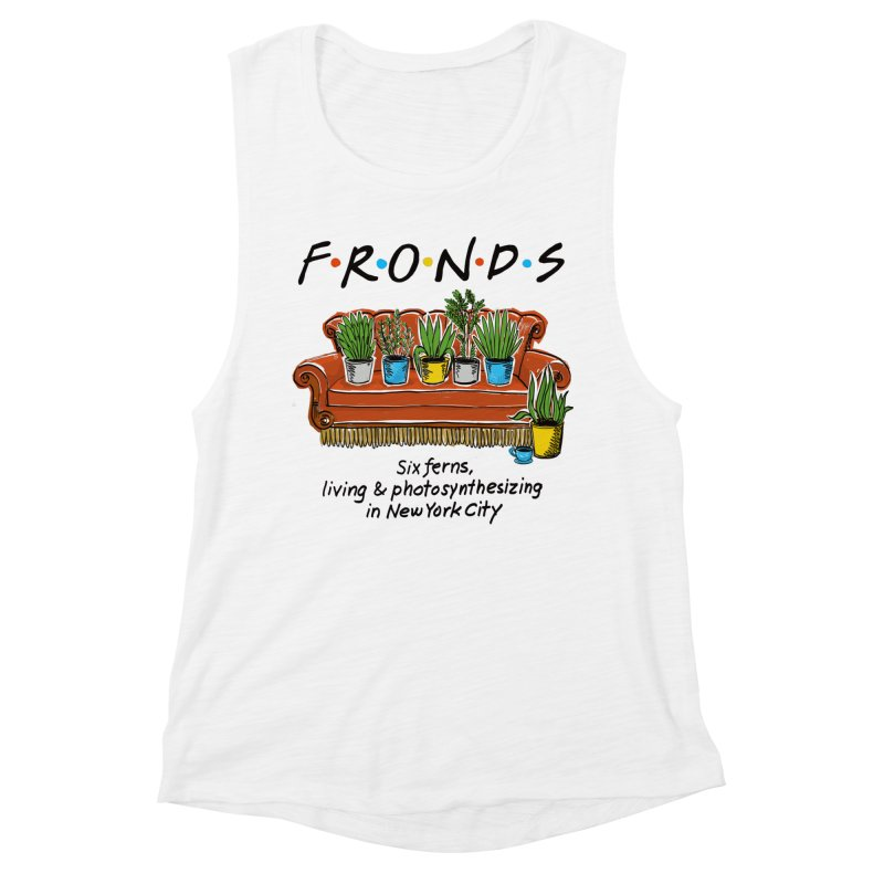 FRONDS Women's Muscle Tank by totalbabycakes's Artist Shop