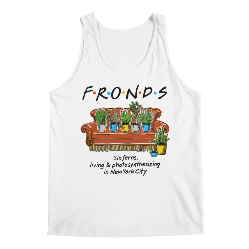FRONDS Men's Regular Tank by totalbabycakes's Artist Shop