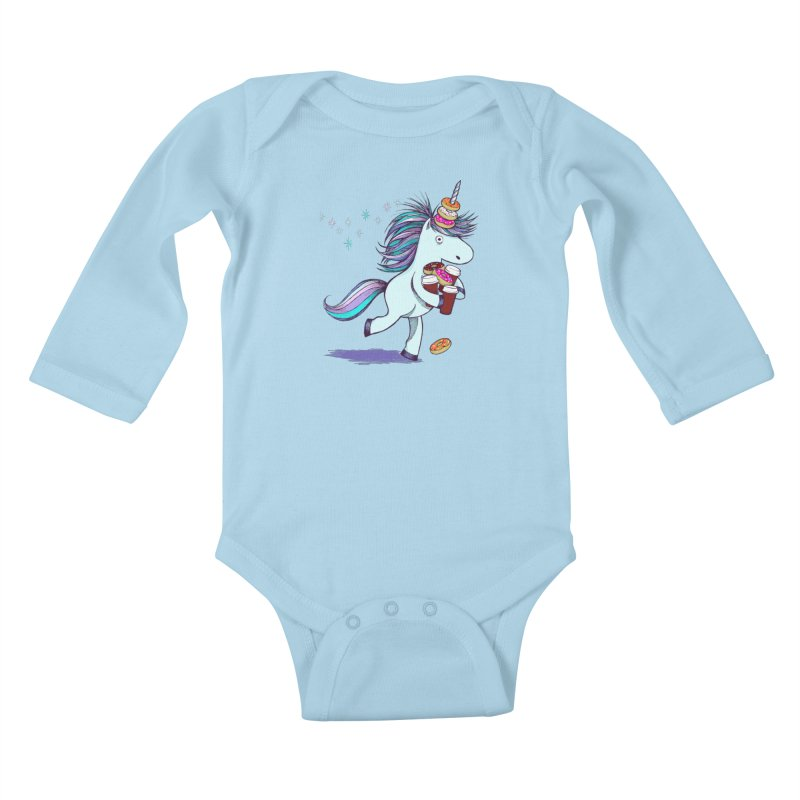 The Intern Kids Baby Longsleeve Bodysuit by totalbabycakes's Artist Shop