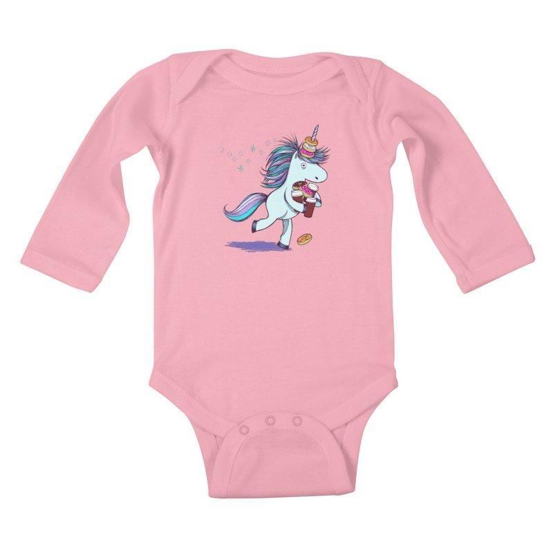 The Intern Kids Baby Longsleeve Bodysuit by totalbabycakes's Artist Shop