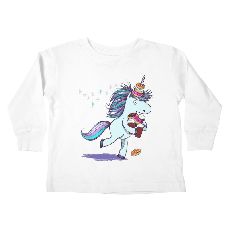 The Intern Kids Toddler Longsleeve T-Shirt by totalbabycakes's Artist Shop