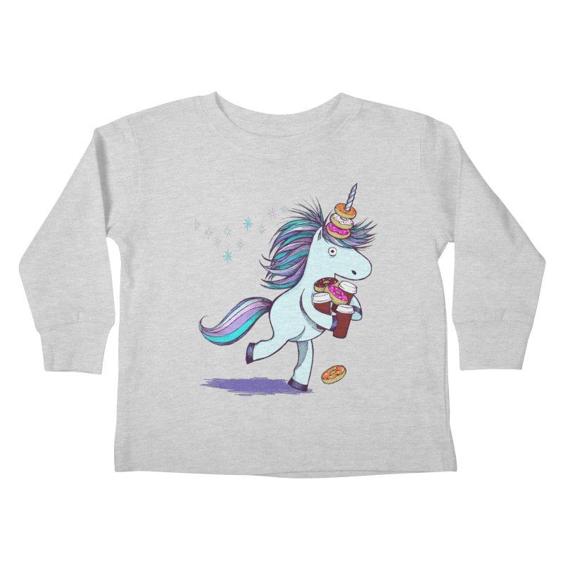 The Intern Kids Toddler Longsleeve T-Shirt by totalbabycakes's Artist Shop