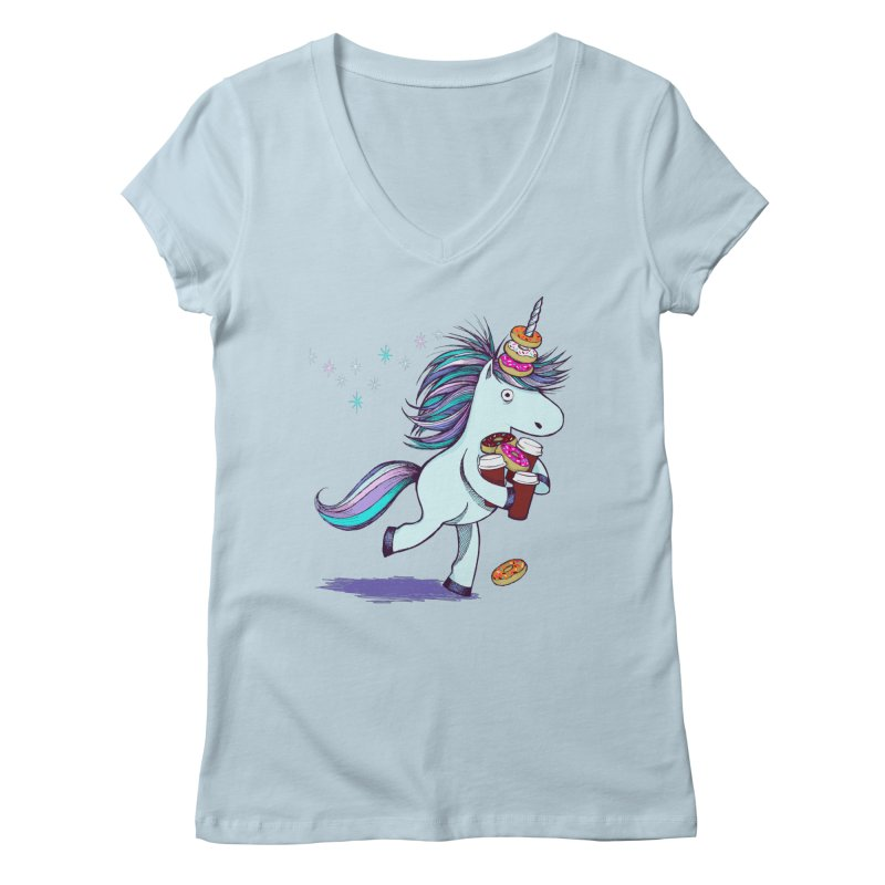 The Intern Women's Regular V-Neck by totalbabycakes's Artist Shop