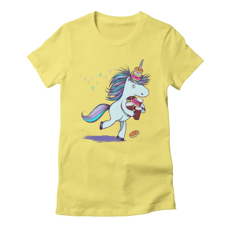 The Intern Women's Fitted T-Shirt by totalbabycakes's Artist Shop