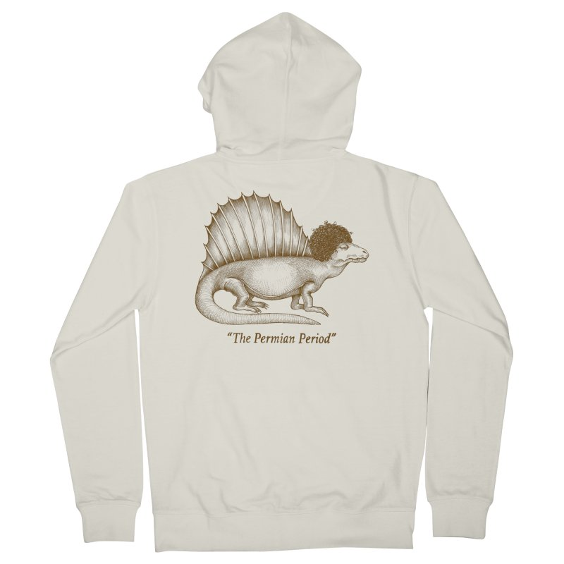 The Permian Period Men's French Terry Zip-Up Hoody by totalbabycakes's Artist Shop