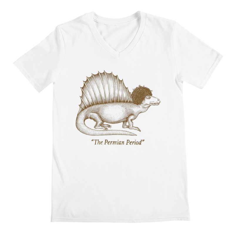 The Permian Period Men's Regular V-Neck by totalbabycakes's Artist Shop