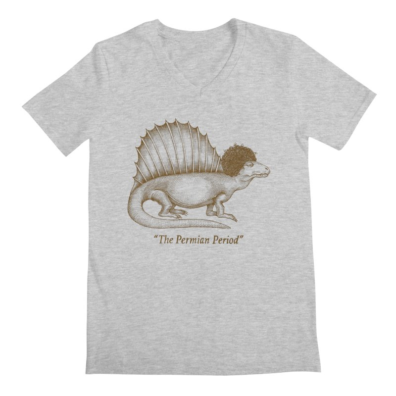 The Permian Period Men's V-Neck by totalbabycakes's Artist Shop