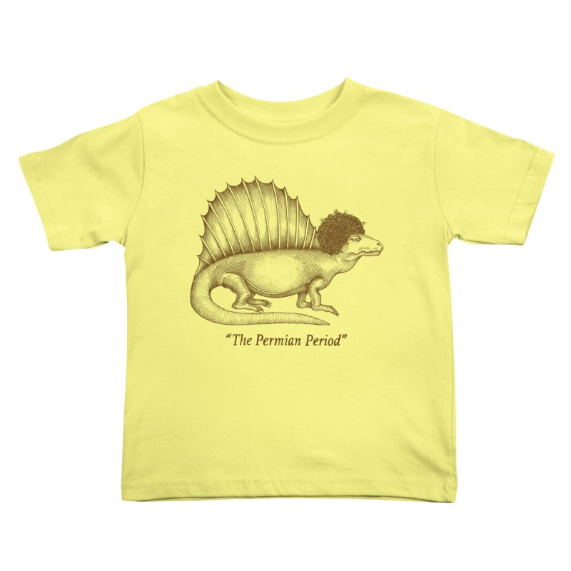 The Permian Period Kids Toddler T-Shirt by totalbabycakes's Artist Shop