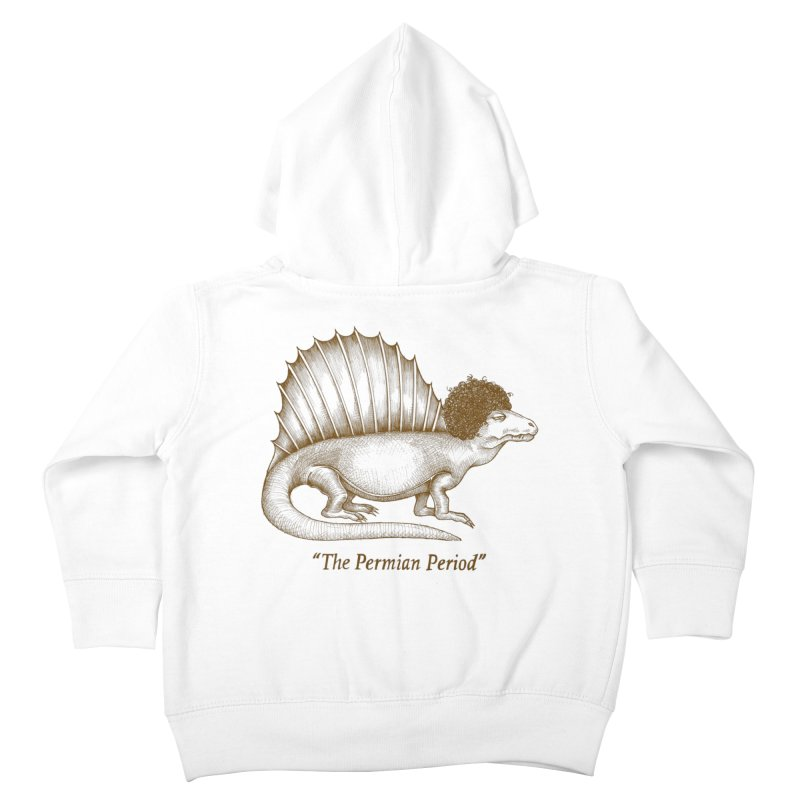 The Permian Period Kids Toddler Zip-Up Hoody by totalbabycakes's Artist Shop