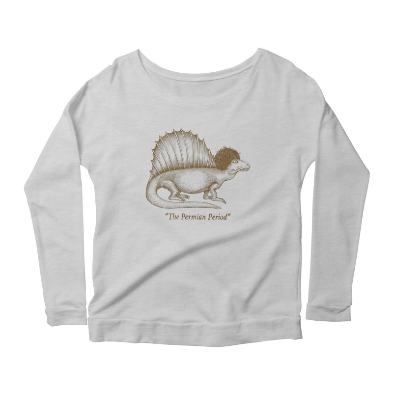 The Permian Period Women's Longsleeve Scoopneck  by totalbabycakes's Artist Shop