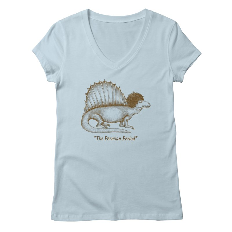 The Permian Period Women's V-Neck by totalbabycakes's Artist Shop