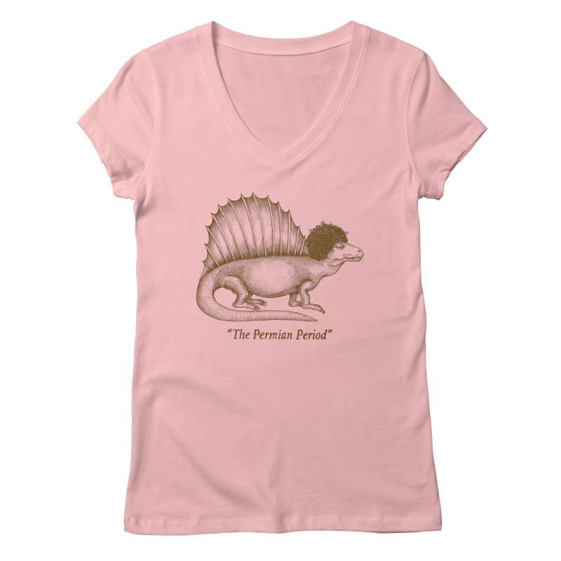 The Permian Period Women's Regular V-Neck by totalbabycakes's Artist Shop
