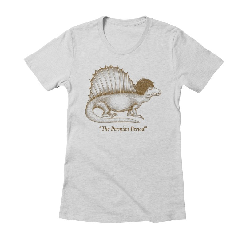 The Permian Period Women's Fitted T-Shirt by totalbabycakes's Artist Shop