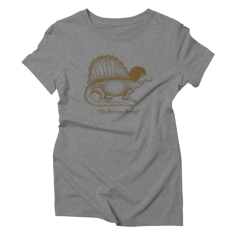 The Permian Period Women's Triblend T-shirt by totalbabycakes's Artist Shop