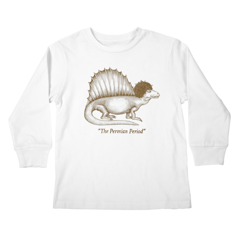 The Permian Period Kids Longsleeve T-Shirt by totalbabycakes's Artist Shop
