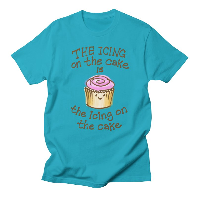 The Icing on the Cake Men's T-shirt by totalbabycakes's Artist Shop