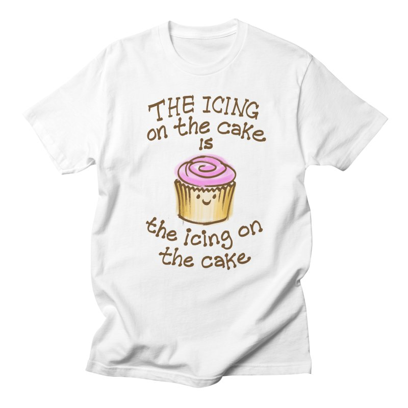 The Icing on the Cake Men's Regular T-Shirt by totalbabycakes's Artist Shop