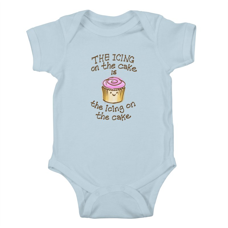 The Icing on the Cake Kids Baby Bodysuit by totalbabycakes's Artist Shop
