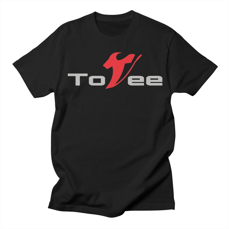 The Original Logo - Black Tee Men's T-Shirt by ToVee Apparel