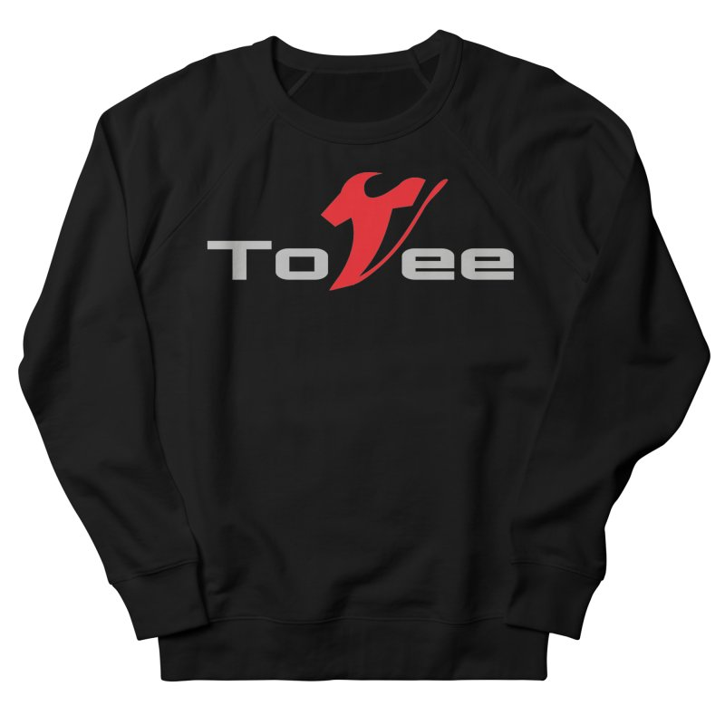The Original Logo - Black Tee Men's Sweatshirt by ToVee Apparel