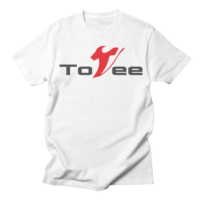 The Original Logo - White Tee Women's Unisex T-Shirt by ToVee Apparel