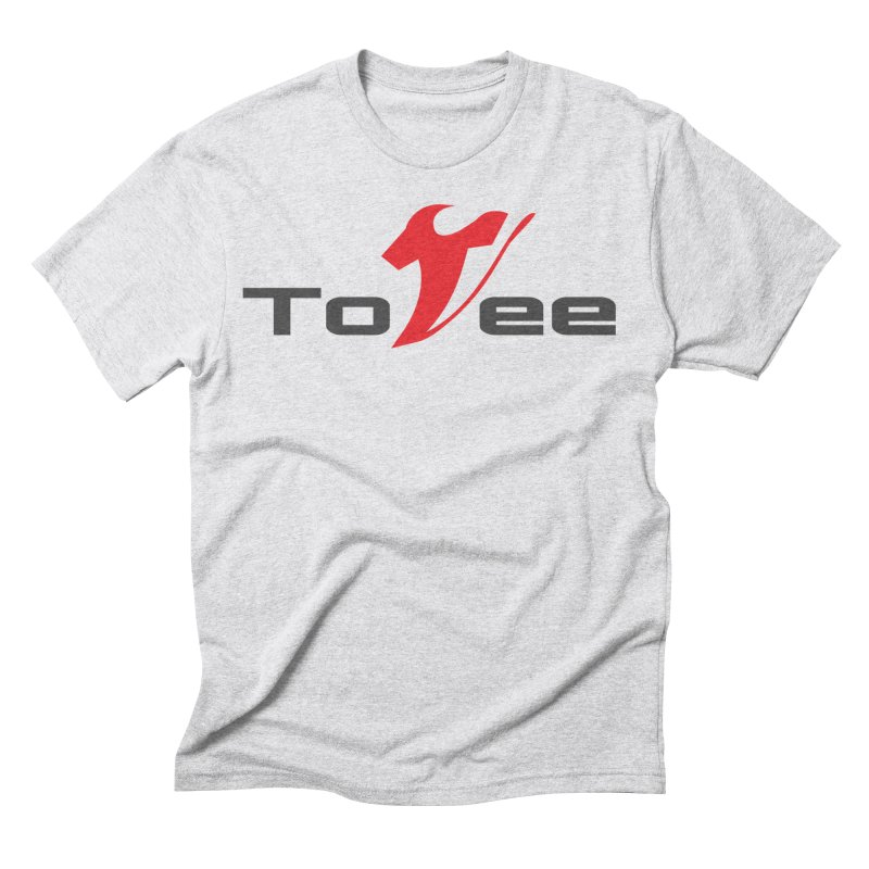 The Original Logo - White Tee Men's Triblend T-shirt by ToVee Apparel