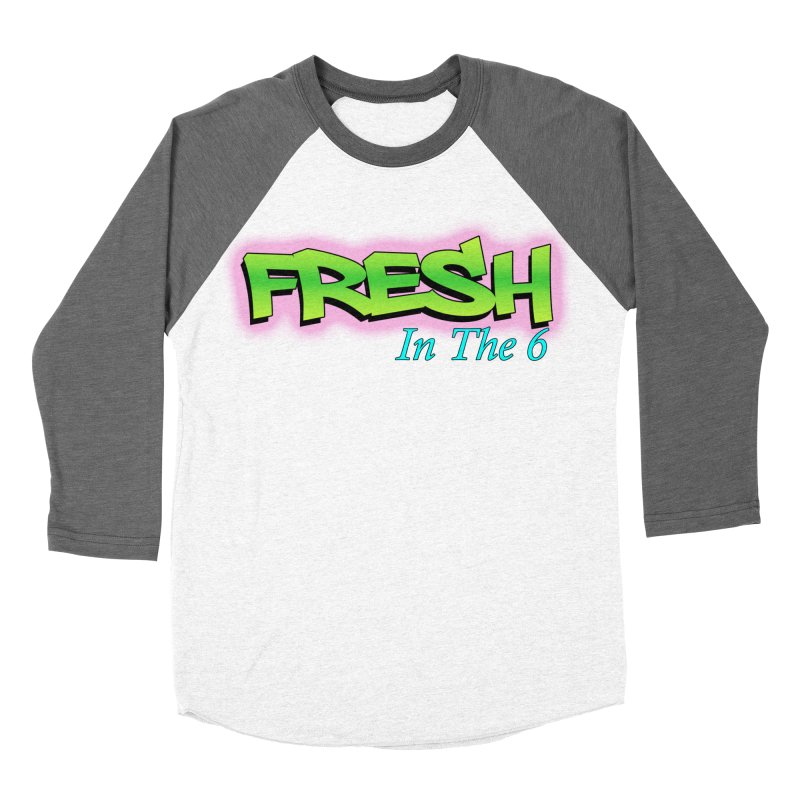 Fresh in The 6 Men's Baseball Triblend T-Shirt by ToVee Apparel
