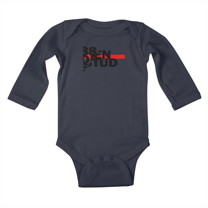 88denstud Kids Baby Longsleeve Bodysuit by towch's Artist Shop