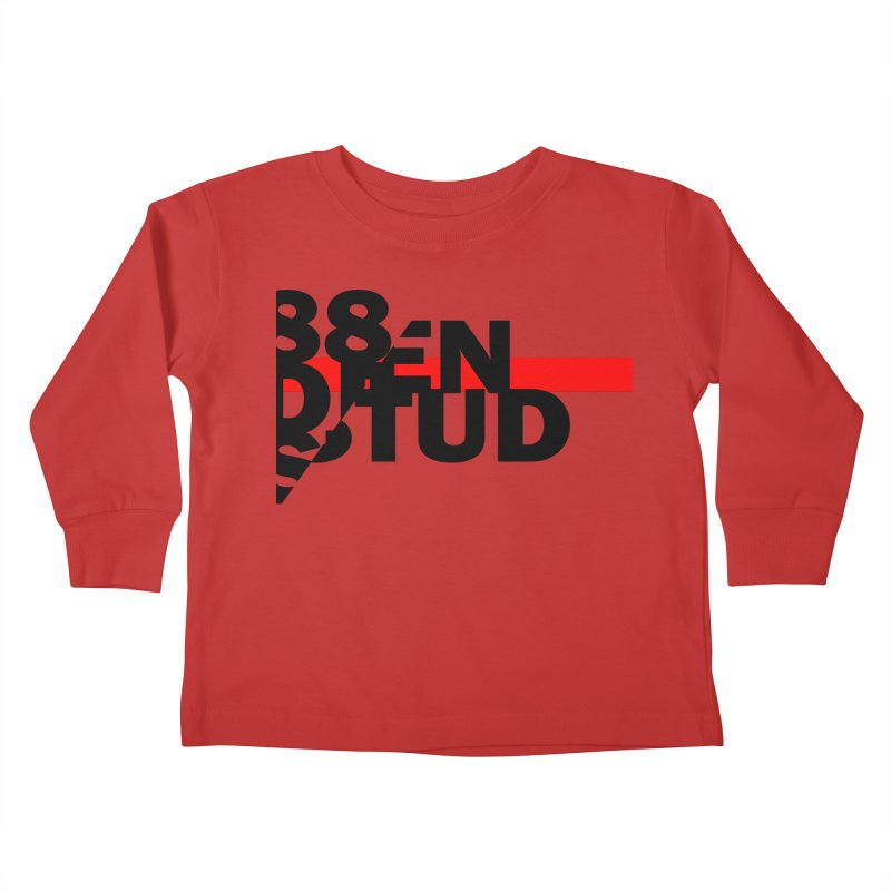 88denstud Kids Toddler Longsleeve T-Shirt by towch's Artist Shop