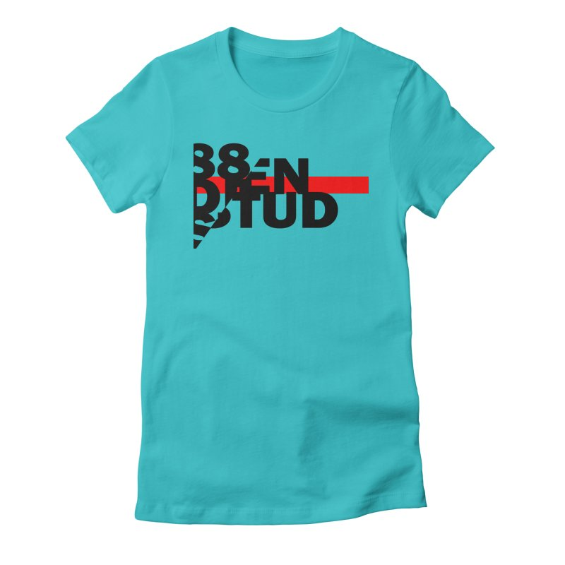 88denstud Women's Fitted T-Shirt by towch's Artist Shop