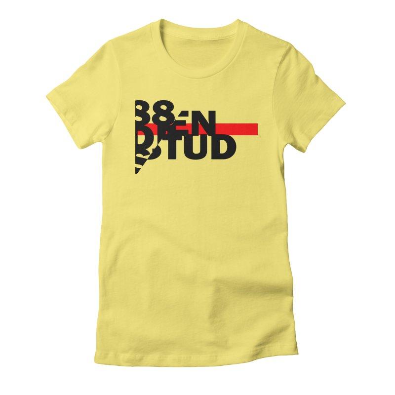 88denstud Women's Fitted T-Shirt by towch's Artist Shop