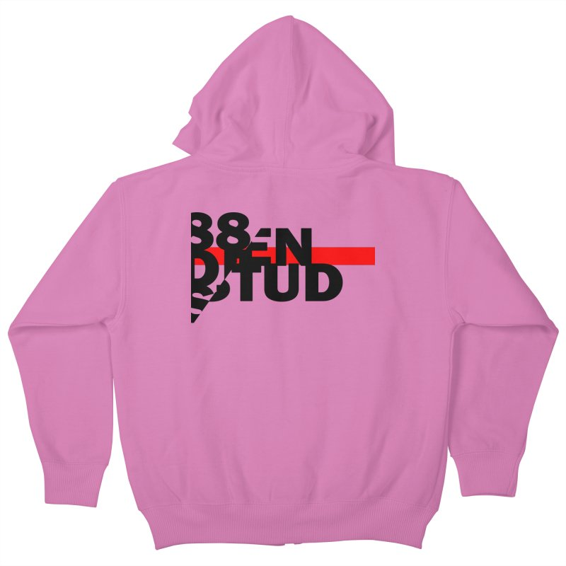 88denstud Kids Zip-Up Hoody by towch's Artist Shop