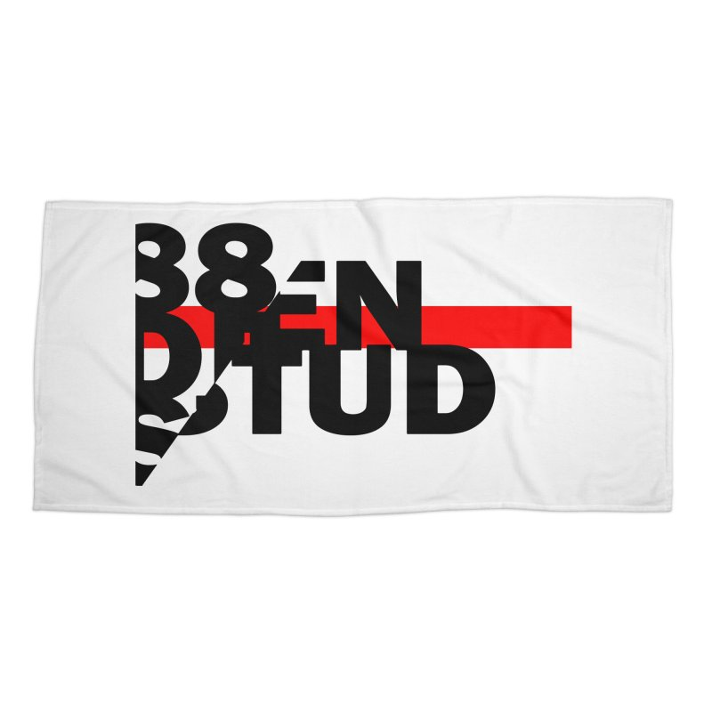 88denstud Accessories Beach Towel by towch's Artist Shop