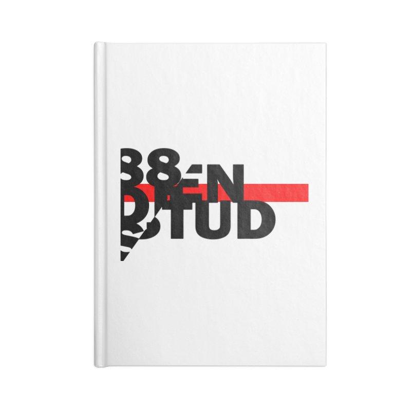88denstud Accessories Blank Journal Notebook by towch's Artist Shop