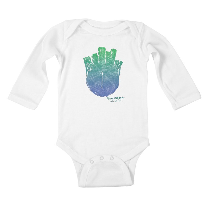 Gomorra Kids Baby Longsleeve Bodysuit by towch's Artist Shop