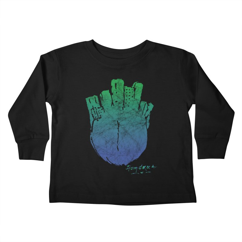 Gomorra Kids Toddler Longsleeve T-Shirt by towch's Artist Shop