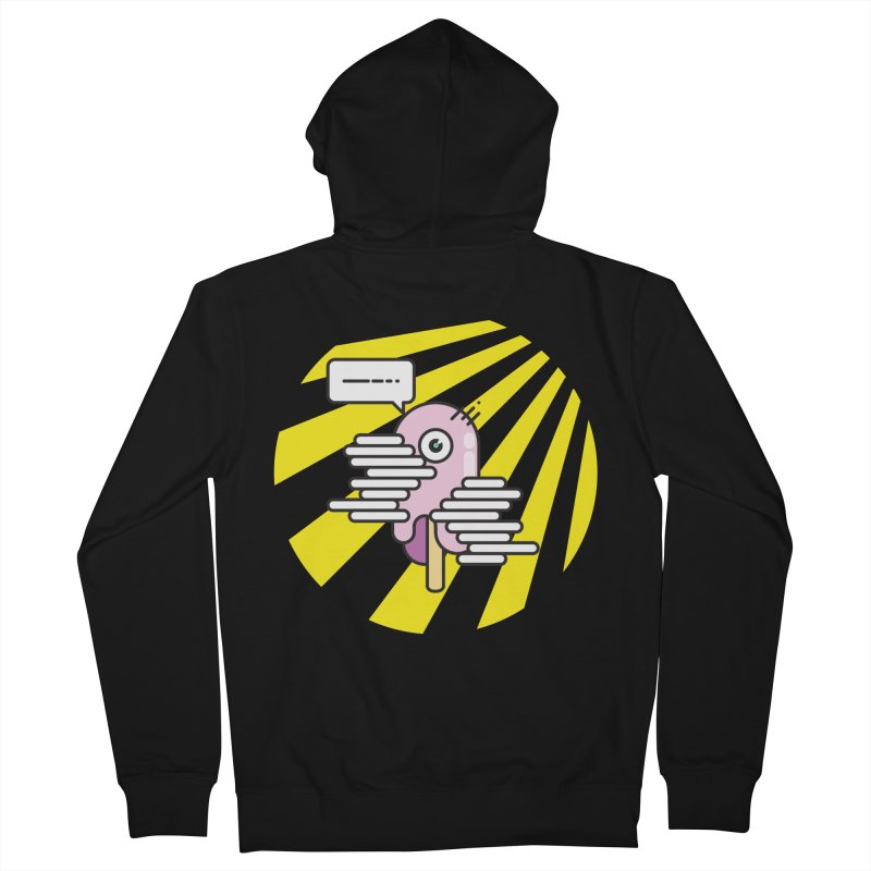 Speechless Melting Icycle Men's Zip-Up Hoody by towch's Artist Shop