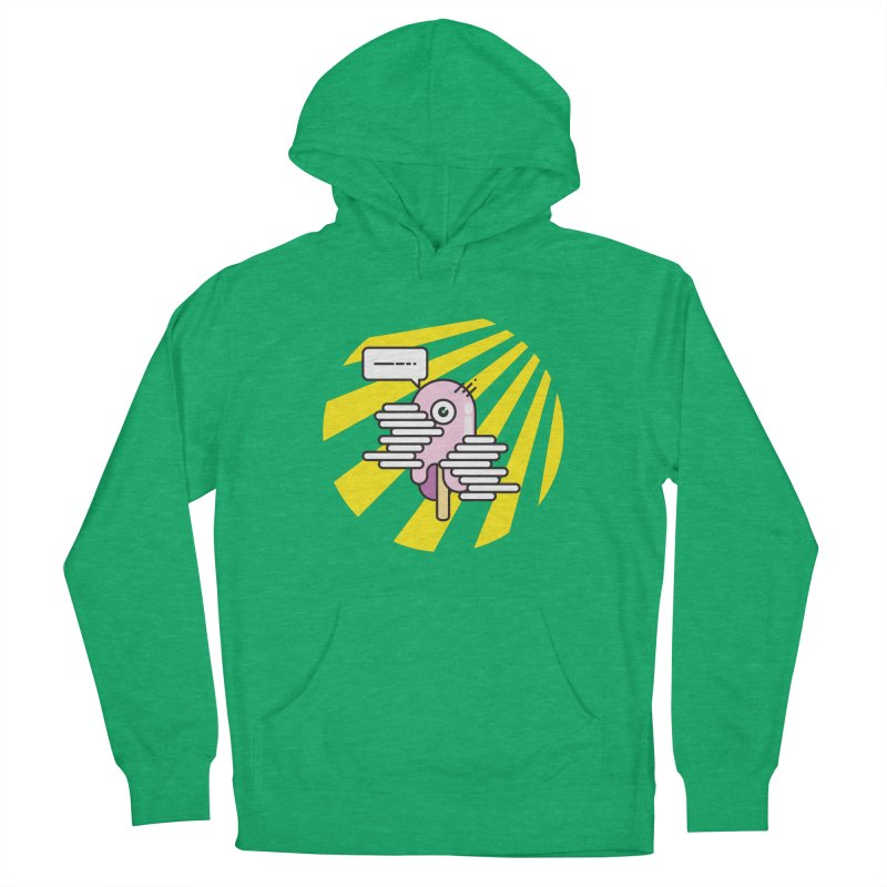 Speechless Melting Icycle Men's French Terry Pullover Hoody by towch's Artist Shop