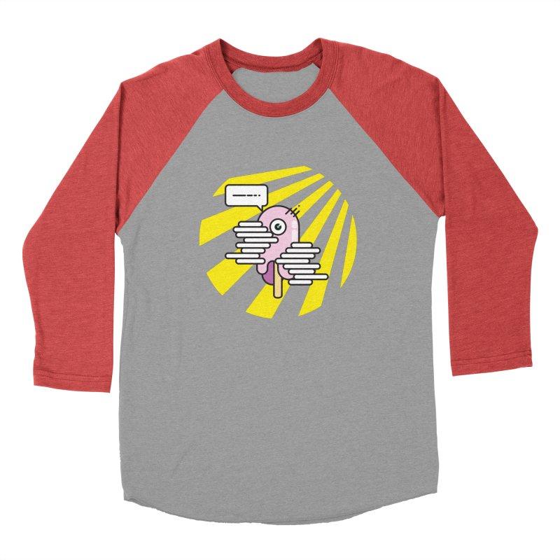 Speechless Melting Icycle Women's Baseball Triblend Longsleeve T-Shirt by towch's Artist Shop