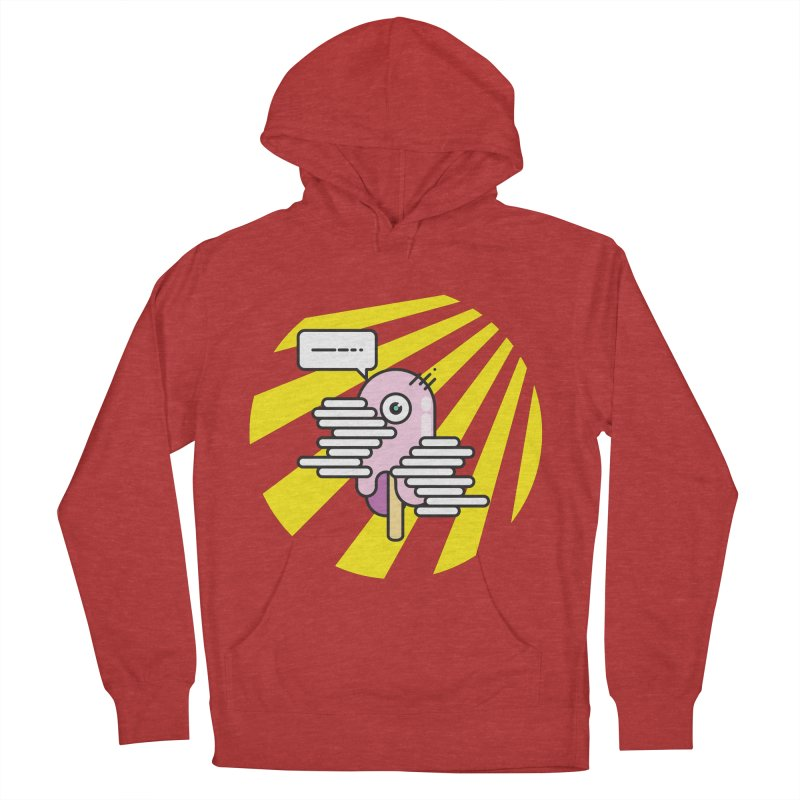 Speechless Melting Icycle Women's French Terry Pullover Hoody by towch's Artist Shop