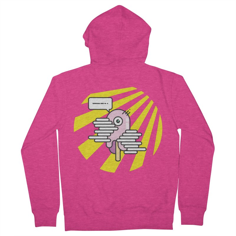 Speechless Melting Icycle Women's French Terry Zip-Up Hoody by towch's Artist Shop