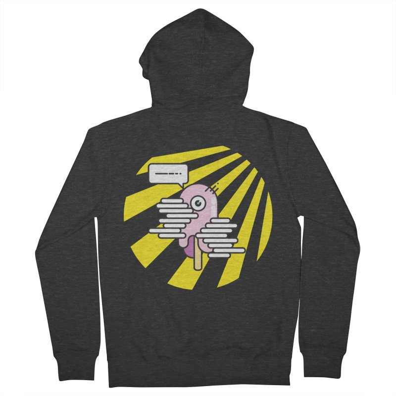Speechless Melting Icycle Men's French Terry Zip-Up Hoody by towch's Artist Shop