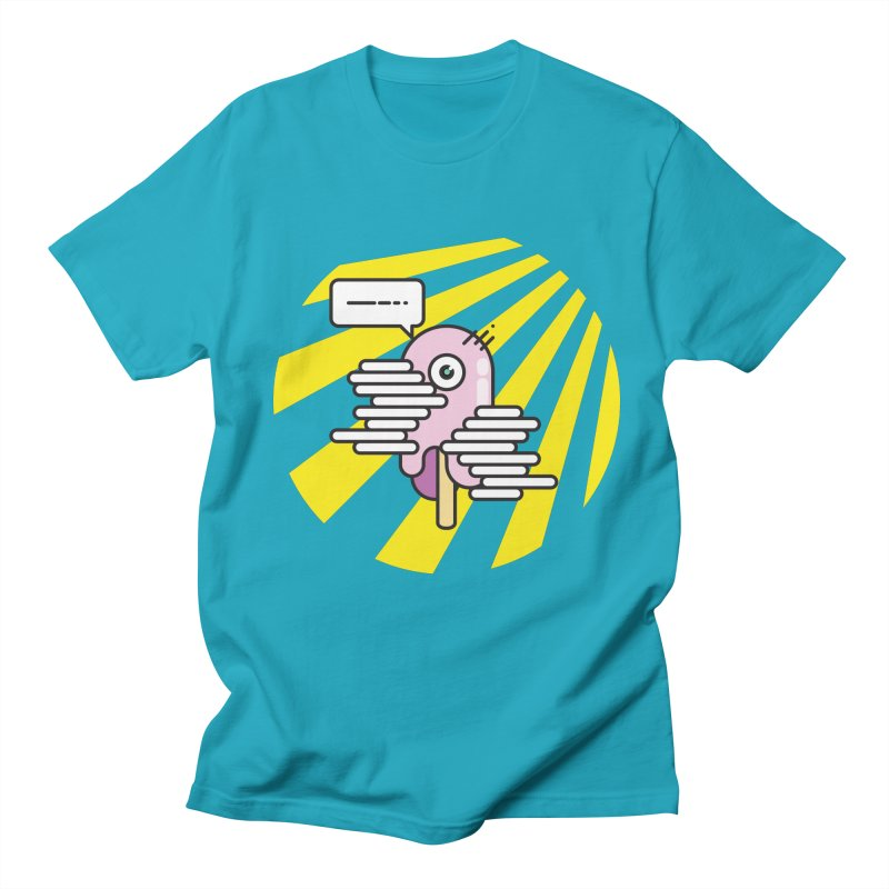 Speechless Melting Icycle Men's T-shirt by towch's Artist Shop